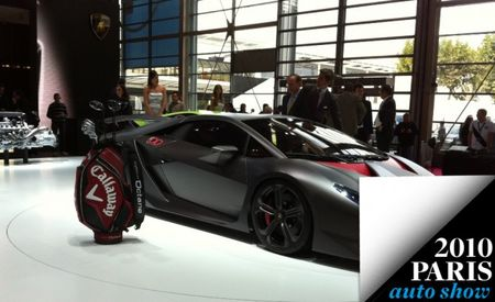 "Paris 2010: Lamborghini and Callaway Golf Partner On Carbon-Fiber Research, Create ""Forged Composite"""
