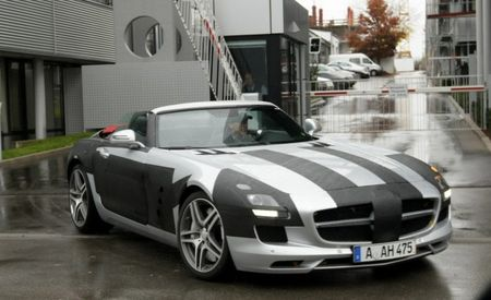 2012 Mercedes-Benz SLS AMG Roadster Images Leaked – Future Cars