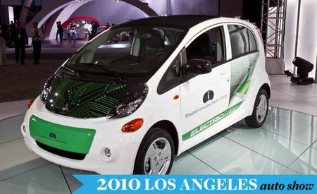 2012 Mitsubishi i-MiEV U.S.-Spec Photos and Info – Auto Shows
