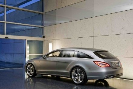 Mercedes Confirms CLS Shooting Brake (OK, It's Really a CLS Station Wagon)