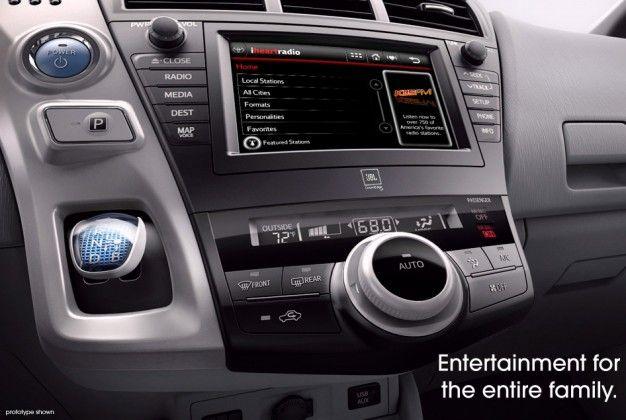 Toyota Teases Prius MPV Prior to Detroit Debut