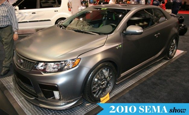 Kia Drops Forte Koup Type R, Forte Hybrid Concepts at SEMA Show