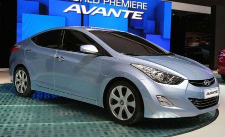2011 Hyundai Elantra Gets 29/40 mpg EPA Ratings, Debuts New 1.8-liter Four