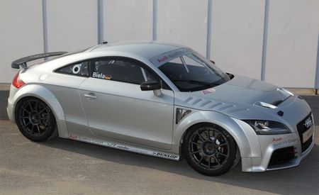 Audi Plans TT GT4 Racer Based on TT RS