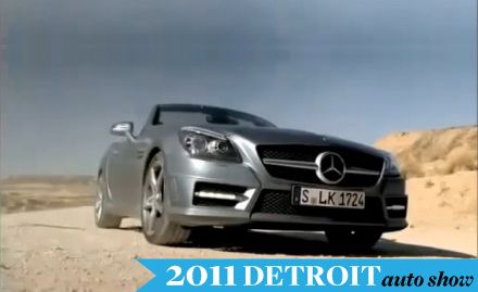 2012 Mercedes-Benz SLK Roadster Revealed in Promo Video