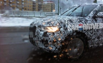 2012 Audi Q3 Compact SUV Spied