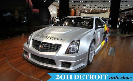 Cadillac CTS-V Coupe Will Race in SCCA World Challenge, Looks Bitchin'