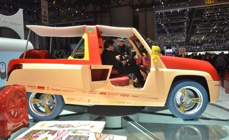 Rinspeed Previews BamBoo Concept Ahead of Geneva Auto Show