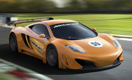 McLaren Announces MP4-12C Race Car for European GT3 Series