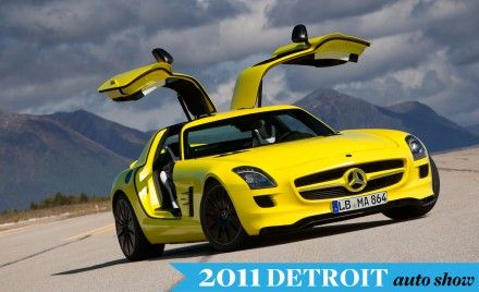 Mercedes-Benz Confirms SLS AMG E-Cell for Production