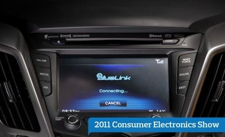Hyundai Blue Link Telematics to Launch on 2012 Sonata and Veloster