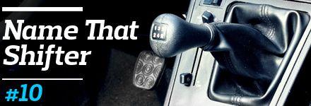 Name That Shifter, No. 10: BMW 318i