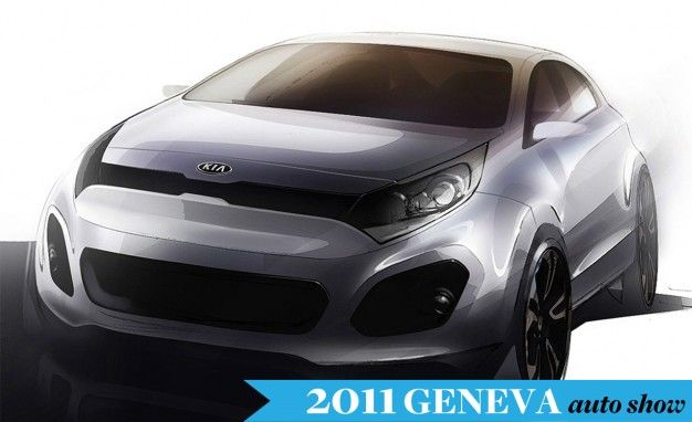 Kia Previews Next-Gen Rio Ahead of Geneva Auto Show