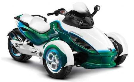 BRP Developing Plug-In Hybrid Version of Can-Am Spyder