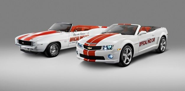 2011 Chevrolet Camaro Convertible to Pace 100th Anniversary of the Indianapolis 500; Chevy Offering 500 Replicas for Sale
