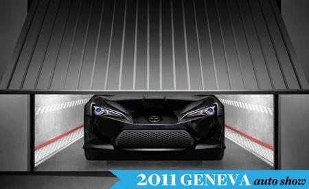 Toyota Teases FT-86 II Concept Ahead of Geneva Show