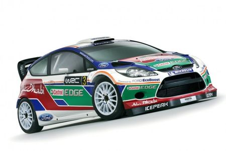 Ford Fiesta RS WRC 2011 Livery Debuts in England