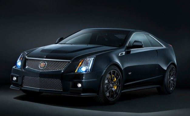 Cadillac Debuts Black Diamond Edition CTS-V, Paints It Sparkly