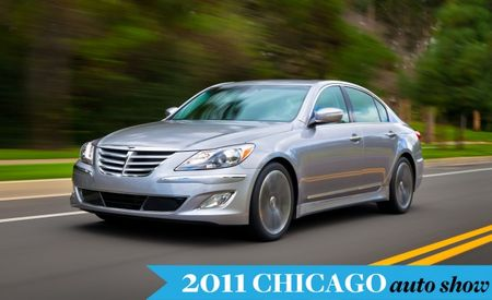 2012 Hyundai Equus Gains Standard 5.0-liter V-8, Eight-Speed Transmission