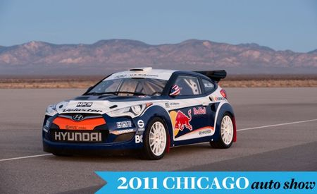 Hyundai Releases Full Information on RMR Red Bull Veloster Rally Car