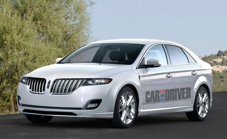 Lincoln to Unveil MKZ Concept at 2012 Detroit Auto Show