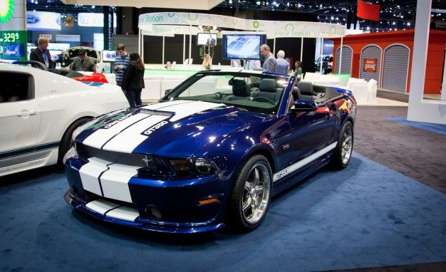 Shelby American Debuts its 2012 Mustang GT350 Convertible