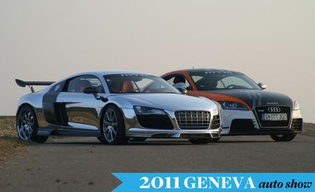 MTM Brings Glistening 766-hp V10 Audi R8 to Geneva