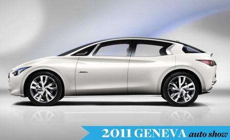 Infiniti Etherea Concept Debuting at Geneva Auto Show