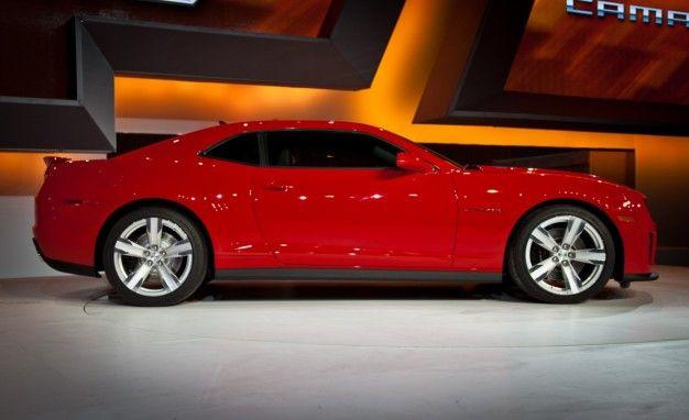 2012 Chevrolet Camaro ZL1 Base Price: Around $47,000