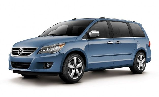 2011 Volkswagen Routan Minivan Gets 283 hp, Other Updates