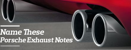"Name These Porsche Exhaust Notes, Win ""Porsche Sounds"" Book"