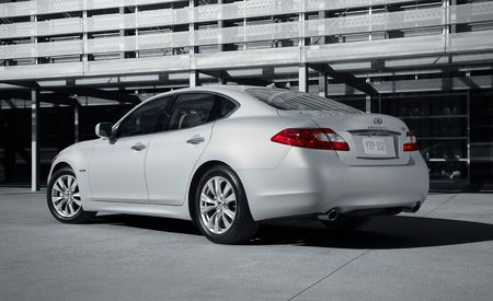 2012 Infiniti M35h Hybrid Priced at $54,575