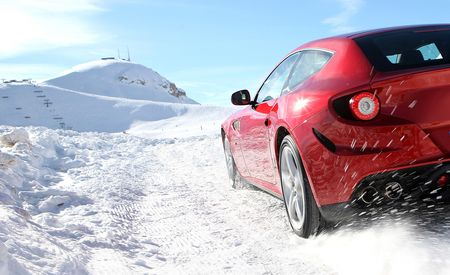 Ferrari FF Shows Off its AWD in Snowy New Pictures [UPDATED WITH VIDEO]