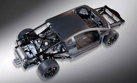 Lamborghini Aventador LP700-4 Chassis Goes Nude Before Geneva Debut