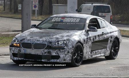 Six Sex: 2012 BMW M6 Spied