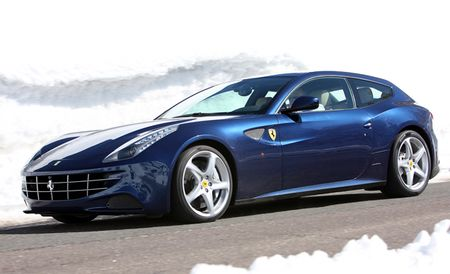 Ferrari FF Gets Apple'd: Siri Integration and iPad Minis Now Included [2013 Geneva Auto Show]