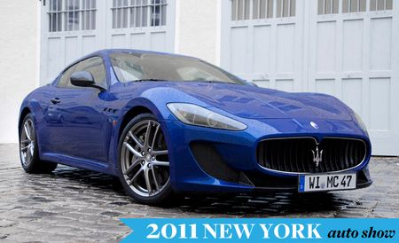U.S. Will Get Its Own Version of Maserati's GranTurismo MC, Will Be Unveiled in April
