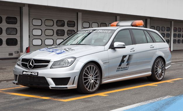 Mercedes-Benz SLS and C63 AMG Wagon Set to Support Formula 1 Field (Again…)