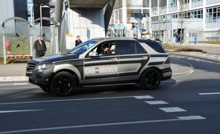 Spy Shots: 2012 Mercedes ML Nearly Camo-Free, Interior Spotted Too