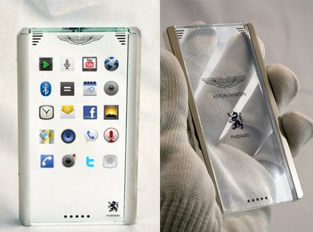 A Different Kind of Concept: Aston Martin and Mobiado to Unveil Concept Phone in Switzerland