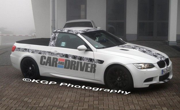 BMW's M3 Pickup Is Cool Enough That We Don't Care It's Not Real