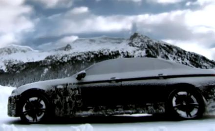 BMW Releases Second M5 Teaser Showing Camouflaged Car in Snow