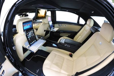 Brabus S-class + iPad 2 = 219-mph Video Conferencing