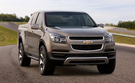 Chevrolet Debuts Colorado Show Truck in Thailand, Plans for U.S. Sales Still Unclear