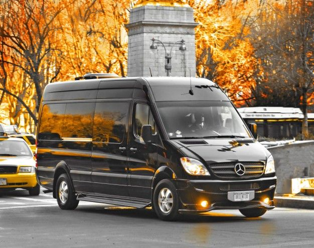 Mercedes-Benz Sprinter Limo by Brilliant Beats the Heck out of a Town Car
