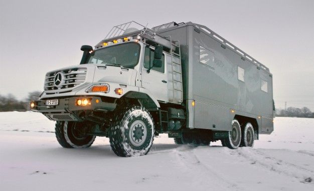 Zetros, Zetros, Golly! Ultra-Luxury Mercedes-Benz 6×6 RVs Tackle Mongolian Wilderness (And We've Got Interior Photos)