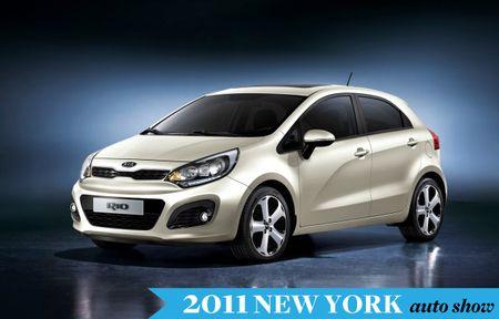 Kia Bringing Re-Dressed Rio Sedan and Hatch to New York Auto Show