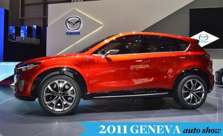 Mazda Minagi Concept Previews CX-5 Small Crossover, New Kodo Design Language