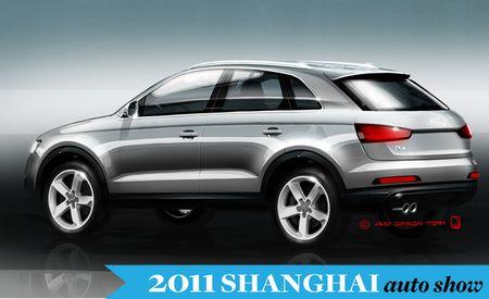 2012 Audi Q3 Sketches Released – Auto Shows