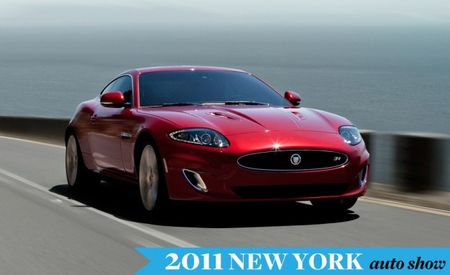 2012 Jaguar XK Gets New Snout, Warm Beeringsley Approves